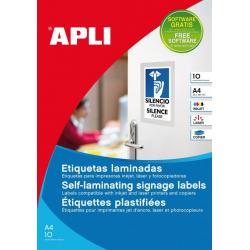 APLI 11684 Самоламиниращи се етикети