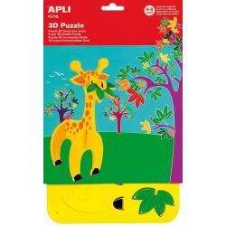3D EVA пъзел Жираф - детскa развлекателно-образователенa играчка