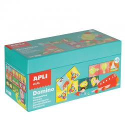 Домино-Транспортни средства-детска забавно-образователна игра