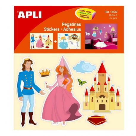 Украса на детска стая, стикери за декорация - Принцеси