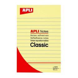 APLI 13370 Самозалепващи листчета с редове за дълги бележки