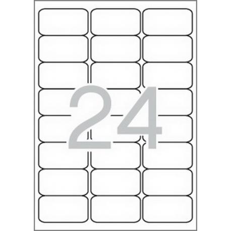 APLI 02409 бели принтерни етикети