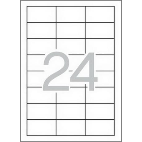 APLI 01263 Бели принтерни етикети