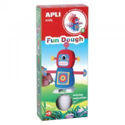Ходещ робот - творчески комплект - игра с вълшебното тесто на APLI Kids
