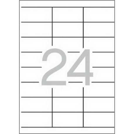 APLI 01293 бели принтерни етикети