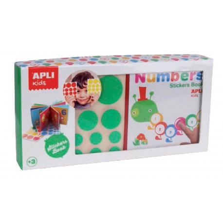 APLI Kids Книжка със стикери: Цветове