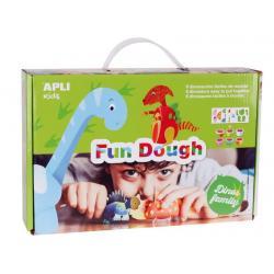 Семейство Динозаври - игра за моделиране с вълшебното тесто на APLI Kids