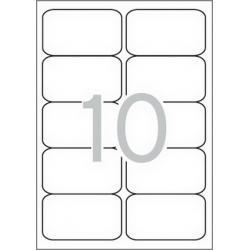 APLI 02411 бели принтерни етикети