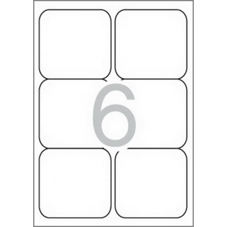 APLI 02421 бели принтерни етикети