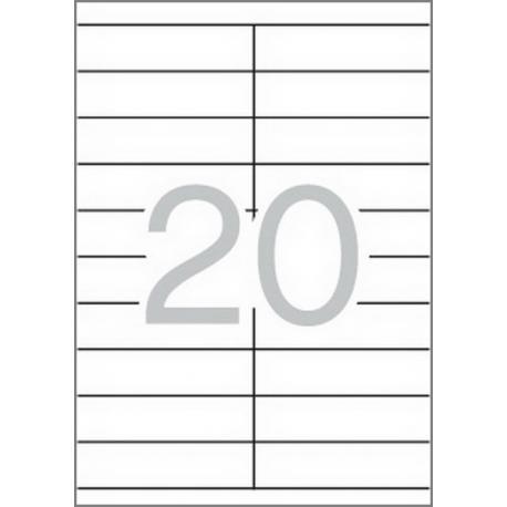 APLI 01299 бели принтерни етикети