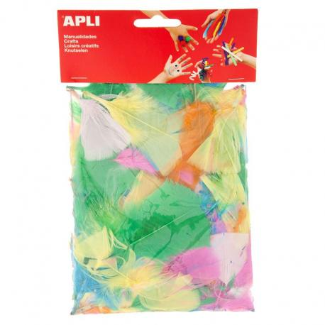 APLI 13281 Декоративни цветни перца, меки