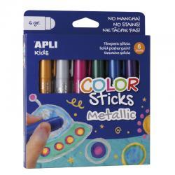 APLI 14405 Гваш стикове, металик цветове
