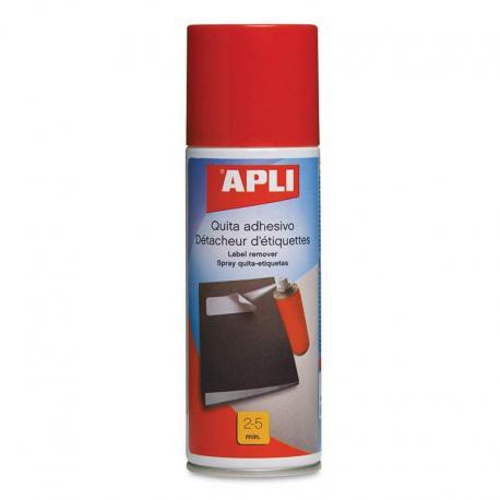 Apli 11303 Спрей за премахване на етикети, стикери, лепенки, следи от лепило - 200 ml