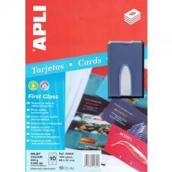 APLI 2655 Визитни картички с фото качество + подарък Визитник