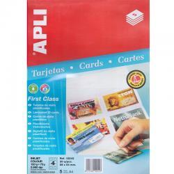 APLI 10242 Самоламиниращи карти с фото качество за мастиленоструен принтер
