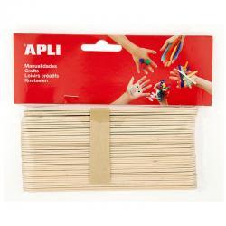 APLI 13268 Дървени пръчици 150 х 18 мм