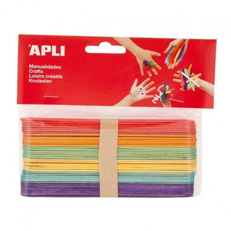 APLI 13269 Дървени пръчици 150 х 18 мм