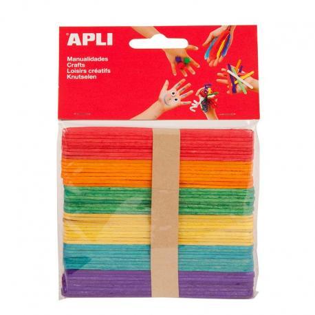 APLI 13064 Дървени пръчици 114 х 10 мм