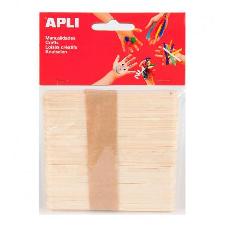 APLI 13063 Дървени пръчици 114 х 10 мм
