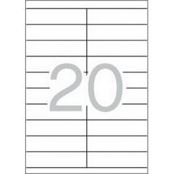 APLI 12063 рециклирани бели етикети