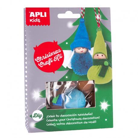APLI 14950 Направи си сам Малко елфче и малко ангелче - играчка за елха
