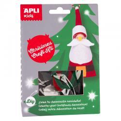 APLI 14952 Направи си сам Дядо Коледа - играчка за елха