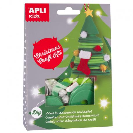 APLI 14346 Направи си сам Коледна елха - играчка за елха