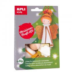 APLI 14348 Направи си сам Ангелче - играчка за елха