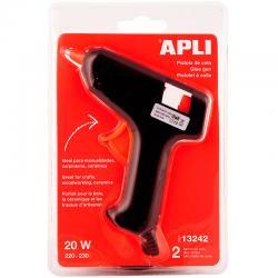 APLI 13242 Пистолет за топло лепене със силиконови пръчки