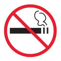 APLI 845 Забранено пушенето - самозалепващ знак