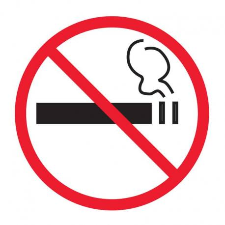 APLI 945 Забранено пушенето - самозалепващ знак