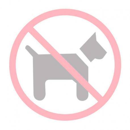 APLI 11536 Забранено за кучета - самозалепващ знак за витрина