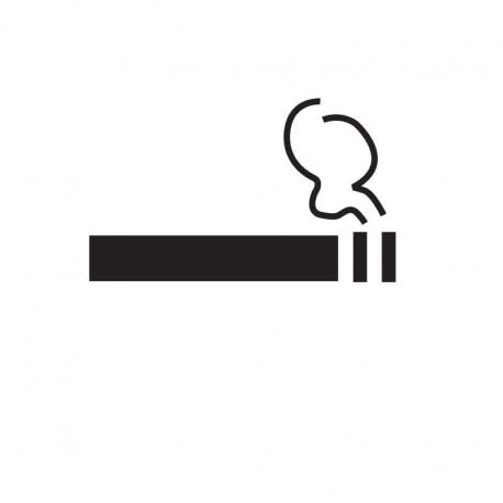 APLI 11339 Място за пушене - самозалепващ знак