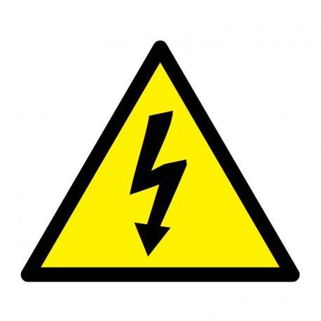 APLI 10951 Внимание! Високо напрежение - самозалепващ знак