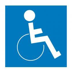 APLI 839 Инвалид - самозалепващ знак