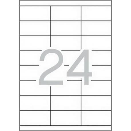 APLI 12060 рециклирани бели етикети