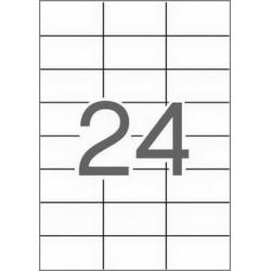 APLI 12061 рециклирани бели етикети