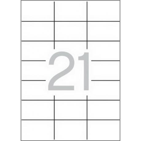 APLI 12062 рециклирани бели етикети
