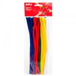 APLI 13065 Плюшени шнурчета - основни цветове