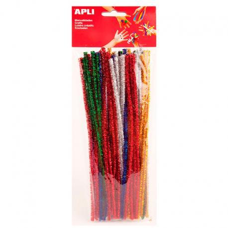 APLI 13066 Плюшени шнурчета - блестящи