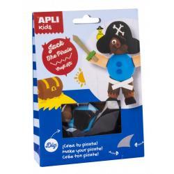 APLI 13714 Направи си сам Стария Пират - творчески комплект