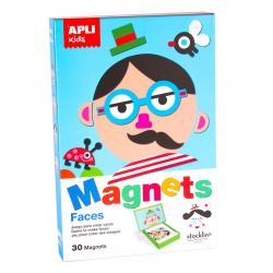 Лица - магнитна игра