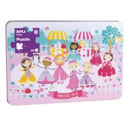 APLI 16490 Принцеси на леда в метална кутия