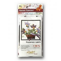 Комплект за квилинг - Кошница с цветя