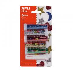 APLI 13343 Брокат в солнички, 6 цвята