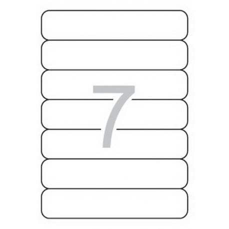 APLI 01232 бели принтерни етикети за папки и класьори