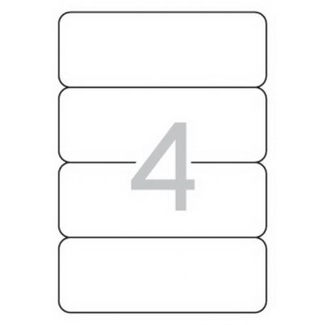 APLI 01233 бели принтерни етикети за папки и класьори