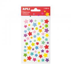 APLI 13510 Самозалепващи епокси стикери - Звездички