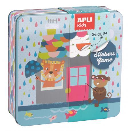 APLI Kids игра със стикери -Къща