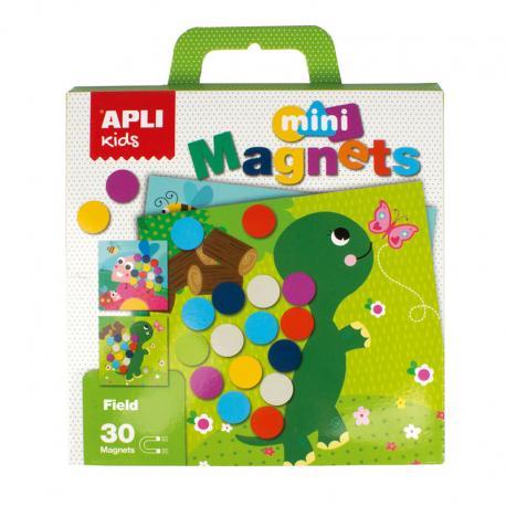 В гората с цветни кръгчета, мини магнитна игра